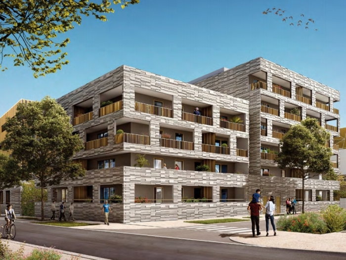 Appartements neufs Port marianne référence 4495 : aperçu n°2