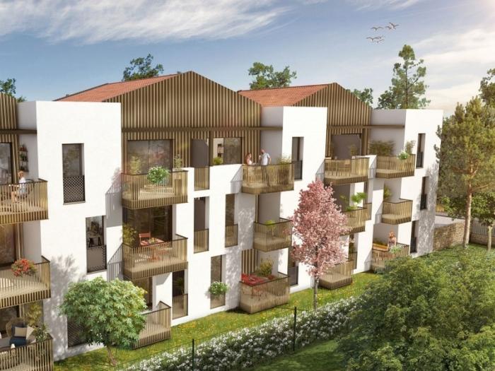 Appartements neufs Saint-Jean-de-Védas référence 4496 : aperçu n°0