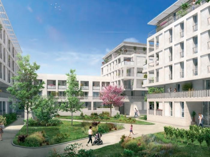 Appartements neufs Castelnau-le-Lez référence 4497 : aperçu n°2