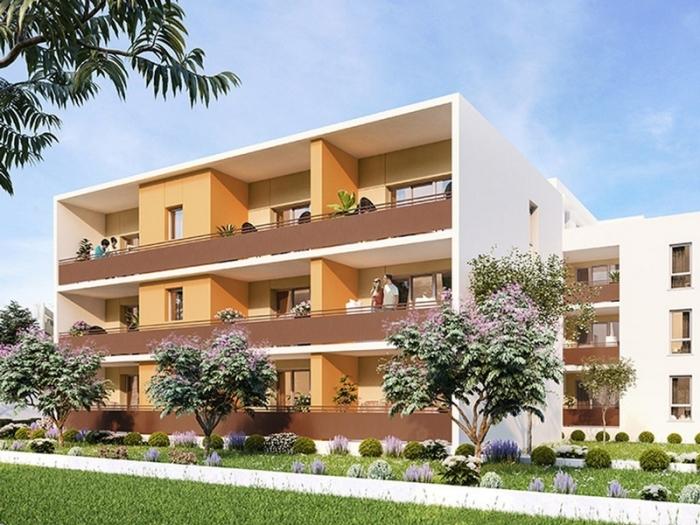 Appartements neufs Castelnau-le-Lez référence 4529 : aperçu n°0