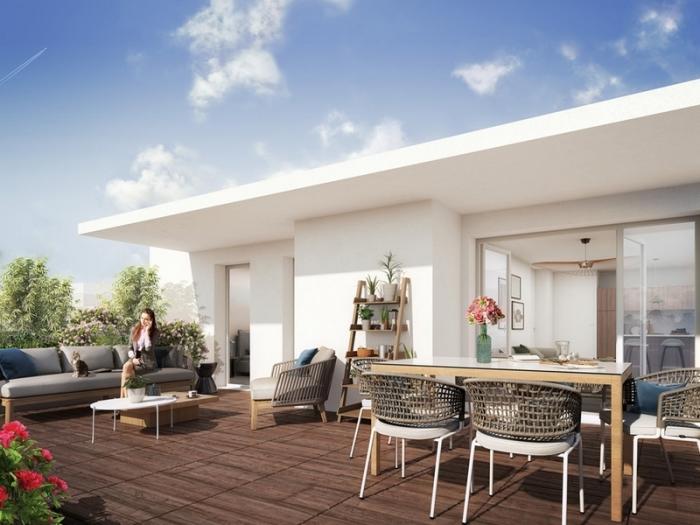Appartements neufs Castelnau-le-Lez référence 4529 : aperçu n°1