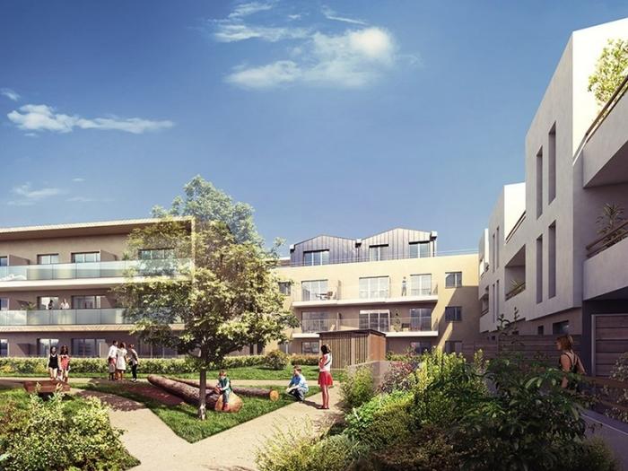 Appartements neufs Castelnau-le-Lez référence 4530 : aperçu n°2