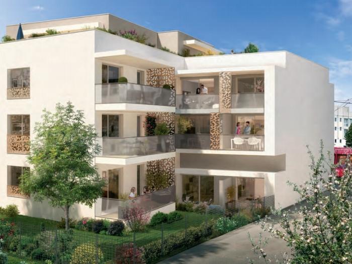 Appartements neufs Castelnau-le-Lez référence 4534 : aperçu n°0