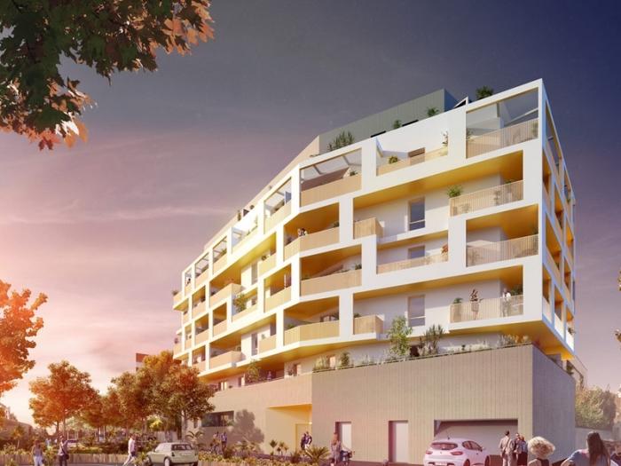 Appartements neufs Les Aiguerelles référence 4524 : aperçu n°0