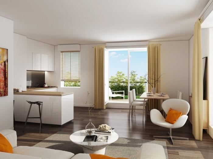 Appartements neufs Les Aiguerelles référence 4524 : aperçu n°1