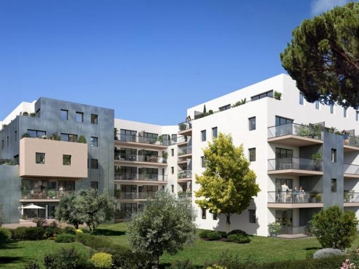 Appartements neufs Les Beaux-Arts référence 4521 : aperçu n°2