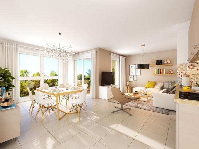 Appartements neufs La Chamberte référence 4531 : aperçu n°1