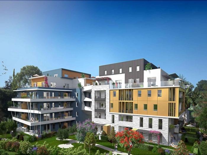 Appartements neufs Les Cévennes référence 4502 : aperçu n°2