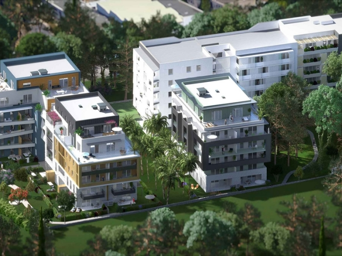 Appartements neufs Les Cévennes référence 4502 : aperçu n°3