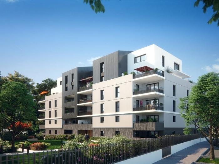 Appartements neufs Les Cévennes référence 4510 : aperçu n°1