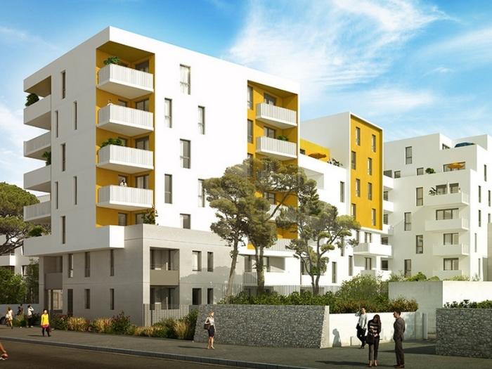 Appartements neufs Les Cévennes référence 4533 : aperçu n°0