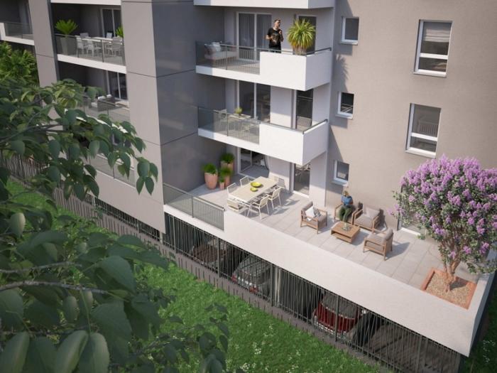 Appartements neufs Mosson référence 4509 : aperçu n°1
