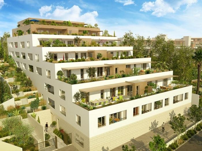 Appartements neufs Les Hôpitaux-Facultés référence 4532 : aperçu n°0