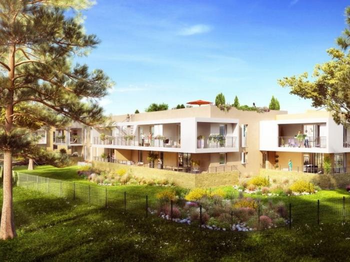 Appartements neufs Clapiers référence 4516 : aperçu n°0