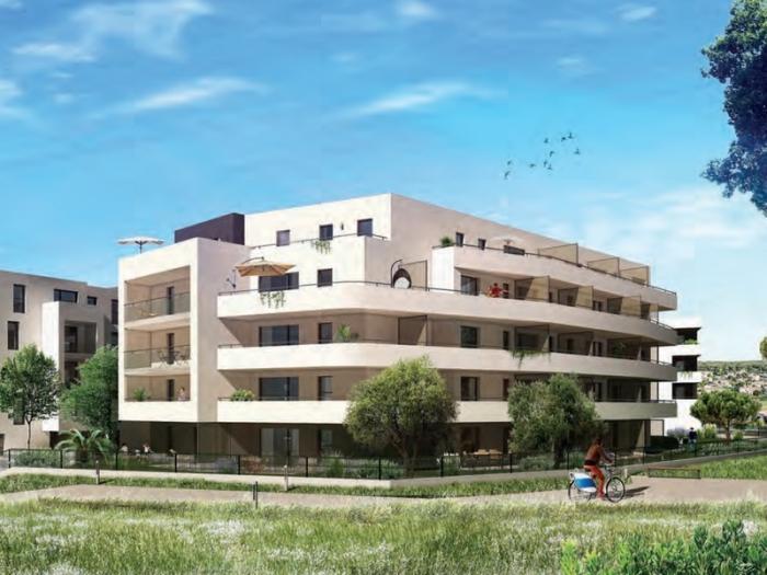 Appartements neufs Juvignac référence 4508 : aperçu n°1