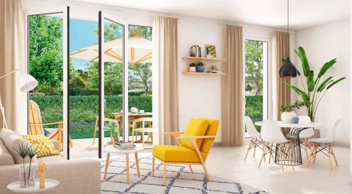 Appartements neufs Saint-Jean-de-Védas référence 4537 : aperçu n°3