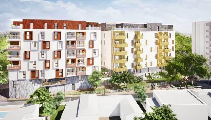 Appartements neufs Les Aiguerelles référence 4540 : aperçu n°1