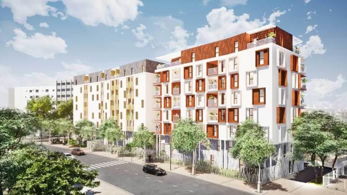 Appartements neufs Les Aiguerelles référence 4540 : aperçu n°2