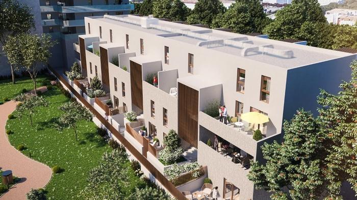 Appartements neufs Près d'Arènes référence 4542 : aperçu n°2