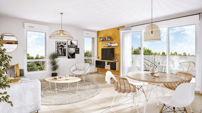 Appartements neufs Aiguelongue référence 4543 : aperçu n°1