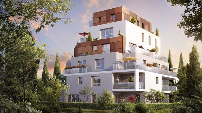 Appartements neufs Aiguelongue référence 4544 : aperçu n°0