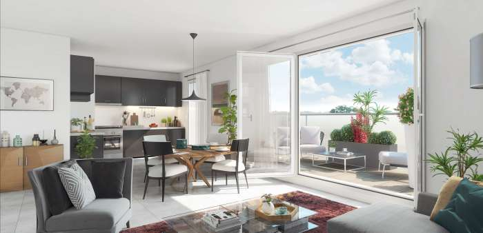 Appartements neufs Lemasson référence 5276 : aperçu n°1