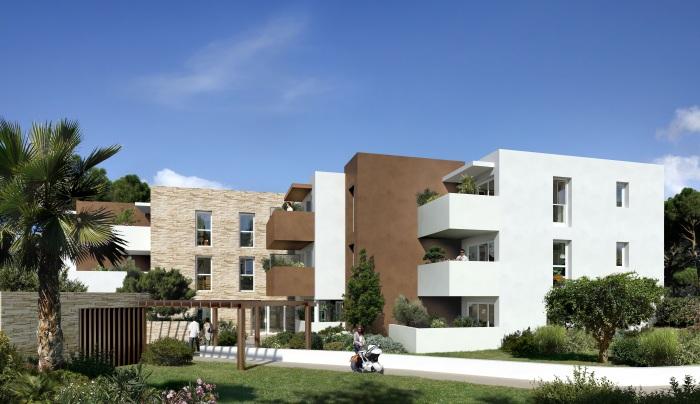 Appartements neufs La Martelle référence 4551 : aperçu n°2