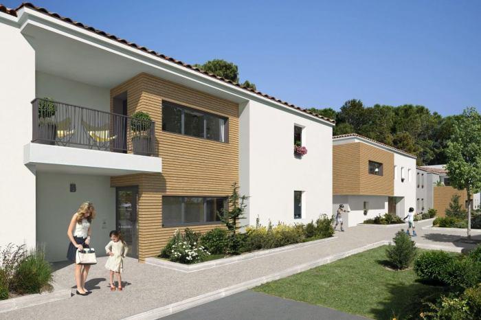 Appartements neufs Castelnau-le-Lez référence 4552 : aperçu n°2