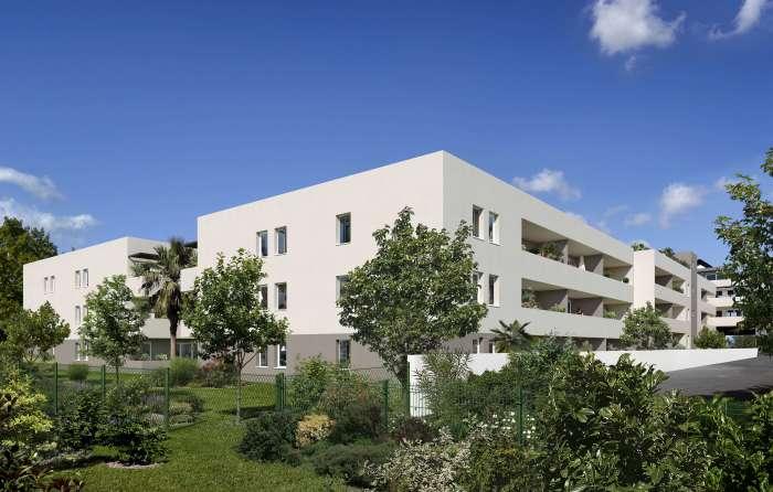 Appartements neufs Castelnau-le-Lez référence 4553 : aperçu n°1