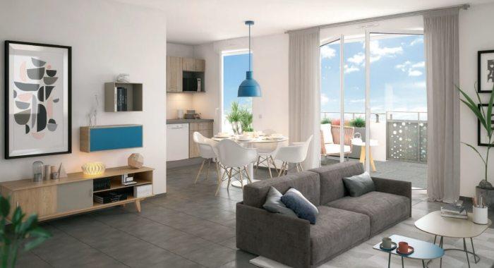Appartements neufs Lemasson référence 4556 : aperçu n°1