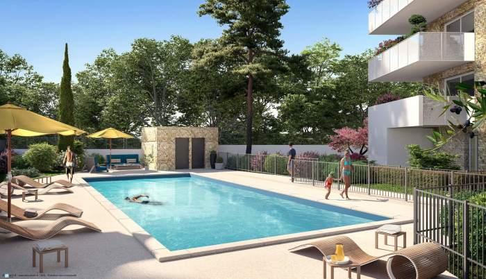 Appartements neufs Port marianne référence 4559 : aperçu n°3