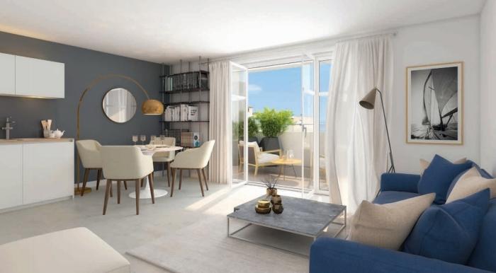 Appartements neufs Port marianne référence 4564 : aperçu n°1