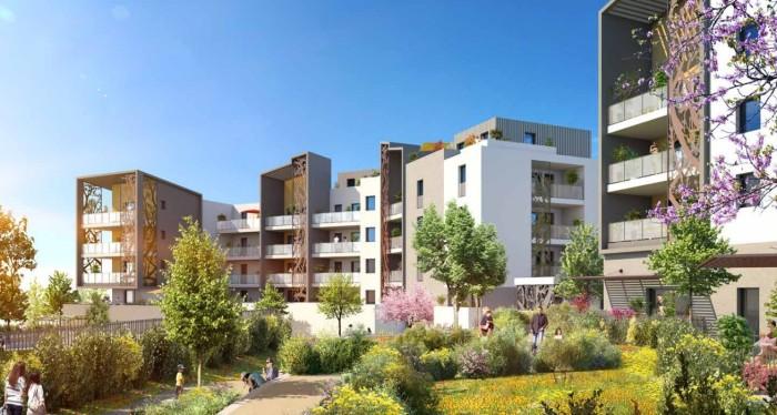 Appartements neufs Saint-Jean-de-Védas référence 4566 : aperçu n°1
