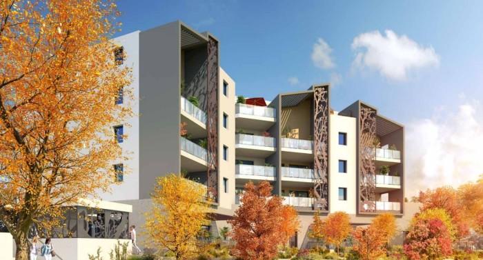 Appartements neufs Saint-Jean-de-Védas référence 4566 : aperçu n°2