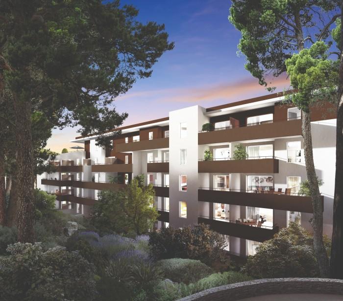 Appartements neufs Les Hôpitaux-Facultés référence 4567 : aperçu n°1