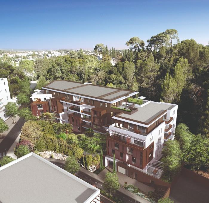 Appartements neufs Les Hôpitaux-Facultés référence 4567 : aperçu n°4