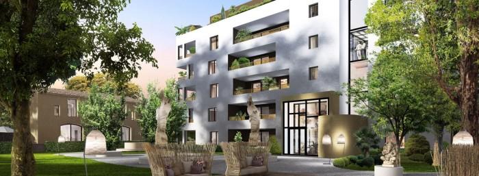 Appartements neufs La Pompignane référence 4568 : aperçu n°0