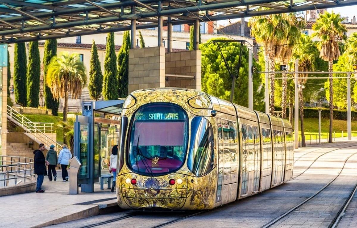 Le tramway de Montpellier