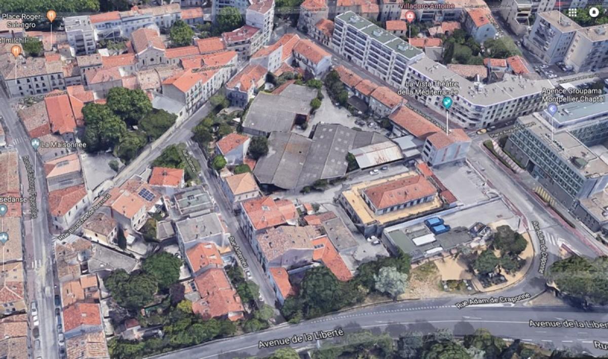 L'îlot dit Vergnes, celui concerné par le projet résidentiel
