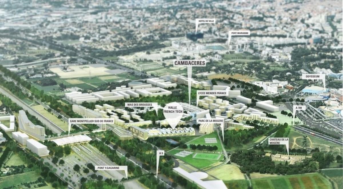 Le plan d'aménagement de Cambacérès