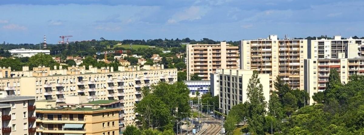 Immeubles à Montpellier