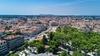 Vue aérienne sur la ville de Montpellier