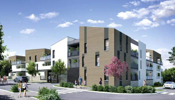 Appartements neufs Saint-Brès référence 4571 : aperçu n°0