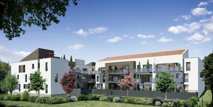 Appartements neufs Saint-Brès référence 4571 : aperçu n°2