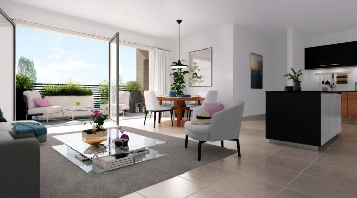 Appartements neufs Saint-Brès référence 4571 : aperçu n°1