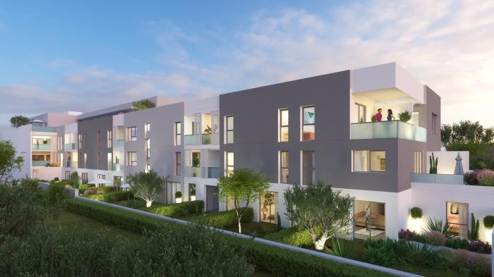 Appartements neufs Castelnau-le-Lez référence 4589 : aperçu n°2