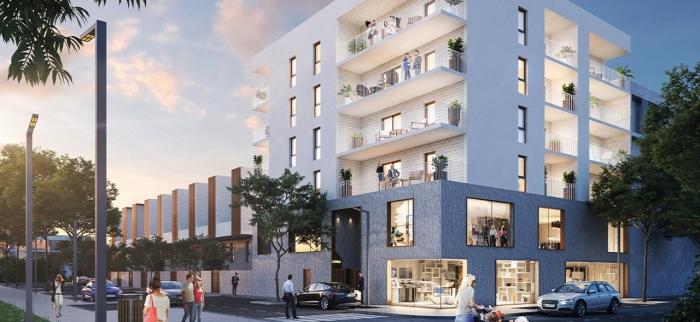 Appartements neufs Près d'Arènes référence 4591 : aperçu n°0