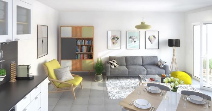 Appartements neufs Près d'Arènes référence 4591 : aperçu n°1
