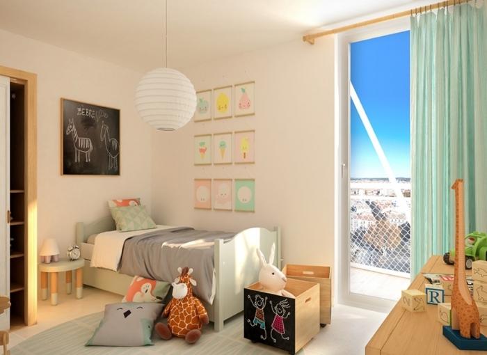 Appartements neufs Les Gares référence 4592 : aperçu n°2