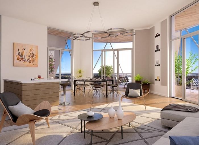 Appartements neufs Les Gares référence 4592 : aperçu n°3